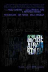 Don't Be Afraid of the Dark movie poster (2011) 27x40 one-sheet
