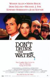 Don't Drink the Water movie poster [Woody Allen & Michael J. Fox] VG