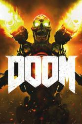 Doom video game poster (2016 game) 24x36