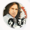 The Doors pinback: 1.5'' Button [Jim Morrison & band]