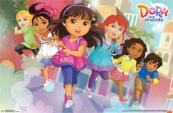Dora and Friends: Into the City poster (34x22) animated TV series
