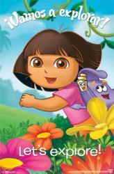 Dora the Explorer poster: Vamos a explorar (22x34) Let's Explore