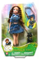 Legends of Oz Dorothy's Return: 10'' Dorothy & Toto doll (Bandai)