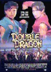 Double Dragon movie poster [Scott Wolf & Mark Dacascos] video poster