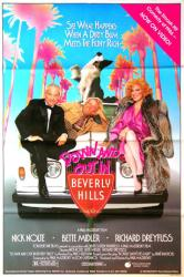 Down and Out in Beverly Hills movie poster [Nolte, Midler] 26x40 video