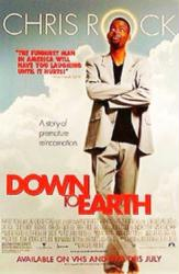 Down To Earth movie poster [Chris Rock] 27x40 video version