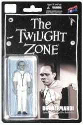"The Twilight Zone: Dr Bernardi 4"" action figure (Bif Bang Pow) B&W"