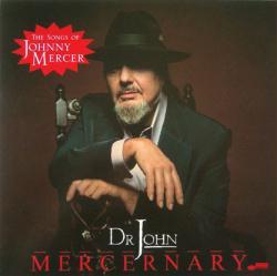 Dr. John poster: Mercernary vintage LP/Album flat