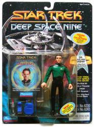 Star Trek Deep Space Nine: Dr. Julian Bashir action figure (Playmates)