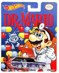 Hot Wheels: Dr. Mario 8 Crate Delivery diecast vehicle (Mattel)