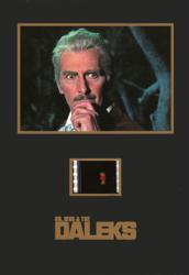 Dr. Who & the Daleks 5'' X 7'' Senitype film cell [Peter Cushing]