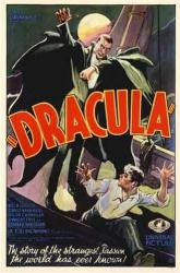 Dracula movie poster [Bela Lugosi] (aboard ship) 11'' X 17''