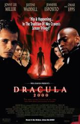Dracula 2000 movie poster [Jennifer Esposito, Omar Epps] 26x40