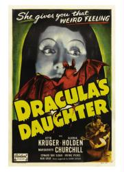 Dracula's Daughter movie poster (1936) [Gloria Holden] 18x24