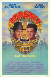 Dragnet movie poster [Dan Aykroyd & Tom Hanks] original 27 X 41