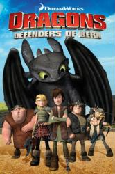 Dragons: Defenders of Berk poster (24 X 36) Riders of Berk TV show