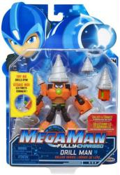 Mega Man Fully-Charged: Drill Man Deluxe action figure (Jakks Pacific)