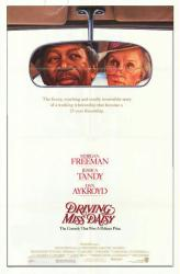 Driving Miss Daisy movie poster [Morgan Freeman, Jessica Tandy] 27x41