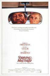 Driving Miss Daisy movie poster [Morgan Freeman, Jessica Tandy] 27x40