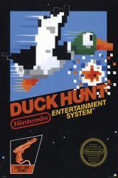 Duck Hunt video game poster (24x36) Nintendo cover art