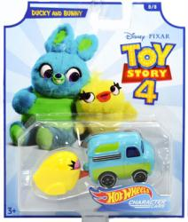 Hot Wheels Character Cars: Toy Story 4 Ducky and Bunny die-cast