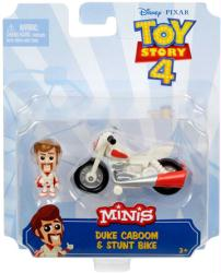 Toy Story 4 Minis: Duke Caboom & Stunt Bike figure set (Mattel/2018)