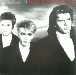 Duran Duran poster: Notorious vintage LP/Album flat (NM)