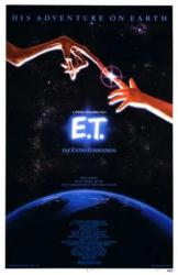 E.T. The Extra-Terrestrial movie poster [Steven Spielberg] 11'' X 17''