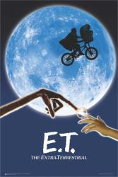 E.T. The Extra-Terrestrial movie poster (24x36) Steven Spielberg film