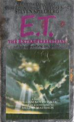 E.T. The Extra-Terrestrial (Paperback Book/1982) Movie Tie-In