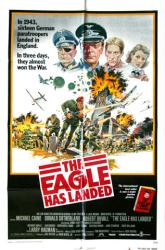 The Eagle Has Landed movie poster [Michael Caine, Robert Duvall] 27x41