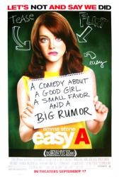 Easy A movie poster [Emma Stone] 2010 one-sheet