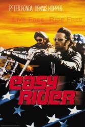 Easy Rider movie poster [Peter Fonda/Dennis Hopper] Live Free