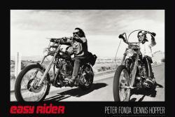 Easy Rider movie poster: Bikes [Peter Fonda & Dennis Hopper] 36x24