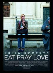 Eat Pray Love movie poster [Julia Roberts] original 27x40 VG