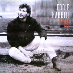 Eddie Rabbitt poster: Jersey Boy (24x24 promo poster) 1990