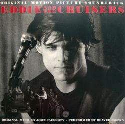 Eddie and the Cruisers soundtrack poster: Vintage LP/Album flat