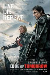 Edge of Tomorrow movie poster [Tom Cruise, Emily Blunt] 27x40 advance