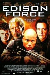 Edison Force movie poster [Morgan Freeman, Kevin Spacey, LL Cool J]