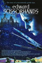 Edward Scissorhands movie poster [Tim Burton film, Johnny Depp] 24x36