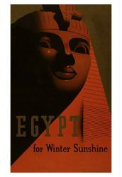 Egypt poster: Egypt for Winter Sunshine (18x24) Travel poster
