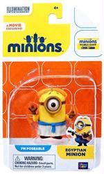 Minions: Egyptian Minion poseable figure (Thinkway Toys)