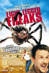 Eight Legged Freaks movie poster [David Arquette, Kari Wuhrer] 27x40