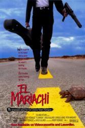 El Mariachi movie poster [a Robert Rodriguez film] 27x40 video version