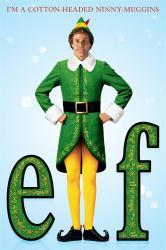 Elf movie poster [Will Ferrell] 24x36
