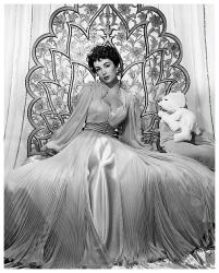 Elizabeth Taylor poster print (18x22) Glamour Shoot