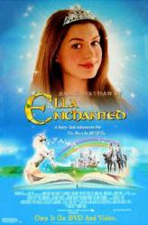 Ella Enchanted movie poster [Anne Hathaway] 26x40 video version