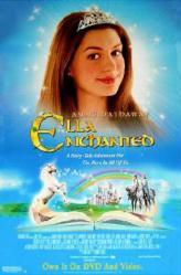 Ella Enchanted movie poster [Anne Hathaway] 26x40 video version