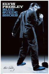 Elvis Presley poster: Blue Suede Shoes (24x36)