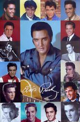 Elvis Presley poster: Composite Collage (24x36)